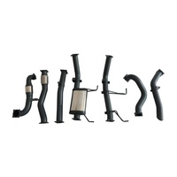 STAINLESS STEEL EXHAUST KIT WITH MUFFLER DELETE - NISSAN PATROL GU Y61 WAGON 3.0 CRD 4WD 2000-11/2016