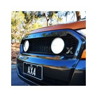 FORD RANGER X GRILLE WITH INTEGRATED LIGHTFORCE VENOM LED DRIVING LIGHTS